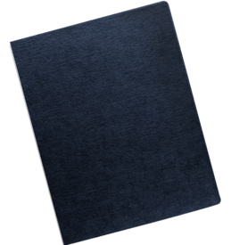 Linen Presentation Covers - Oversize Letter, Navy, 200 pack__Linen Navy Ovr RF.png